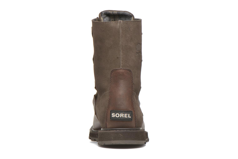 Bottines et boots Sorel Madson Original Marron vue droite