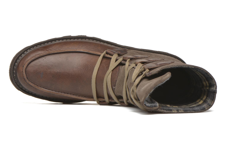 Bottines et boots Sorel Madson Original Marron vue gauche