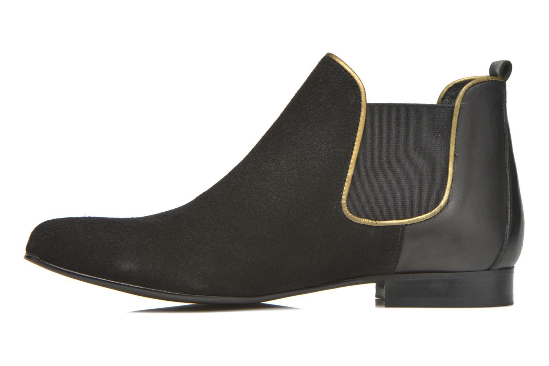 Bottines et boots Georgia Rose Asea Noir vue face