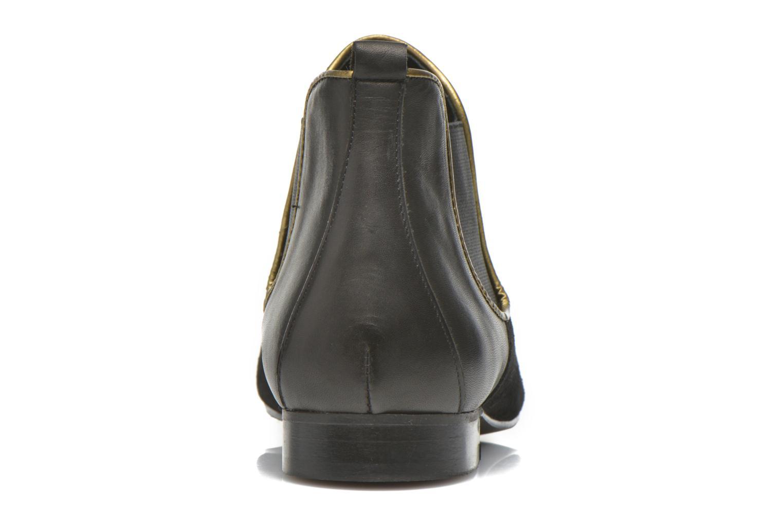 Bottines et boots Georgia Rose Asea Noir vue droite