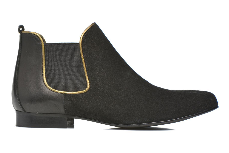 Bottines et boots Georgia Rose Asea Noir vue derrière