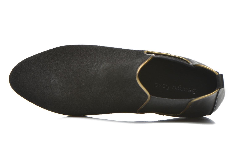 Bottines et boots Georgia Rose Asea Noir vue gauche