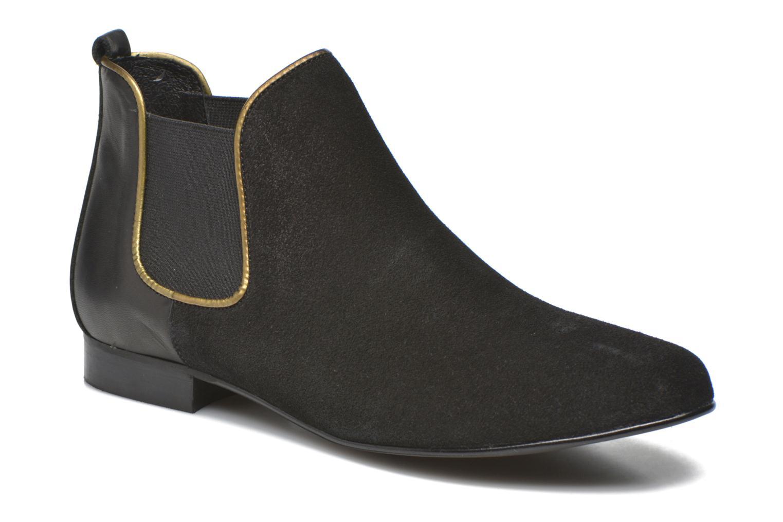 Bottines et boots Georgia Rose Asea Noir vue détail/paire
