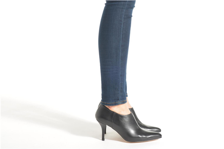 Bottines et boots Georgia Rose Amalboot Noir vue bas / vue portée sac