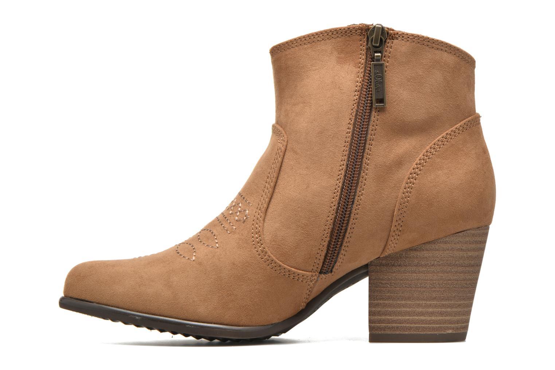 Bottines et boots S.Oliver Badda Marron vue face