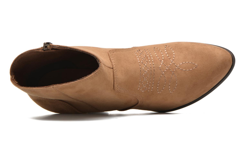 Bottines et boots S.Oliver Badda Marron vue gauche
