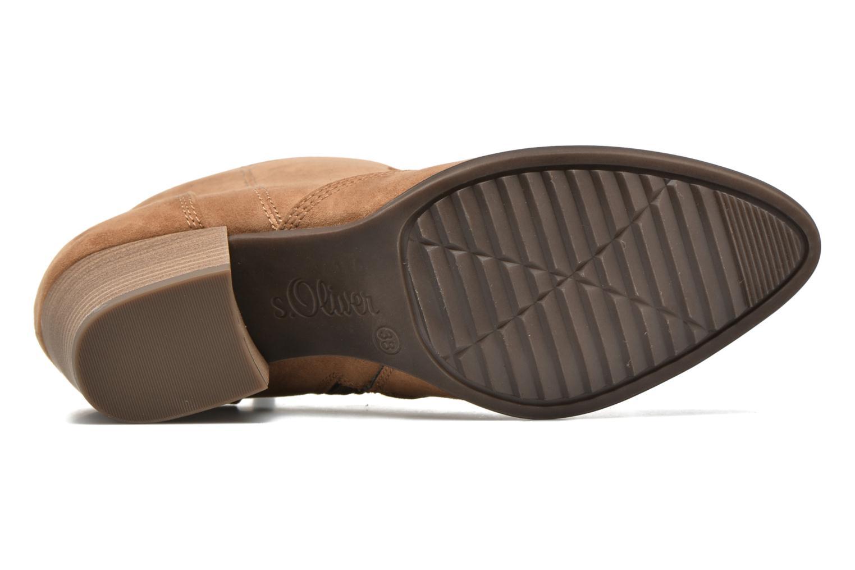 Bottines et boots S.Oliver Badda Marron vue haut