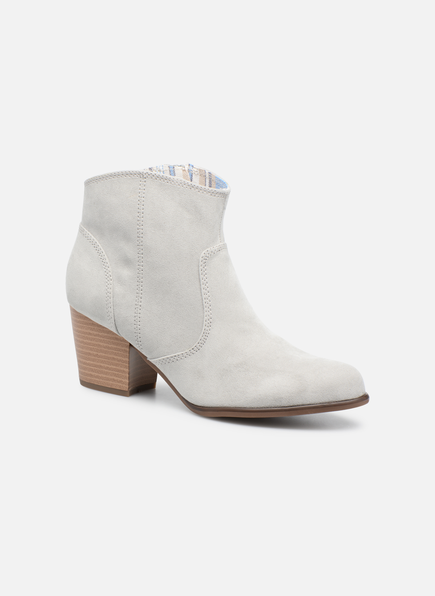 Bottines et boots S.Oliver Badda Gris vue détail/paire