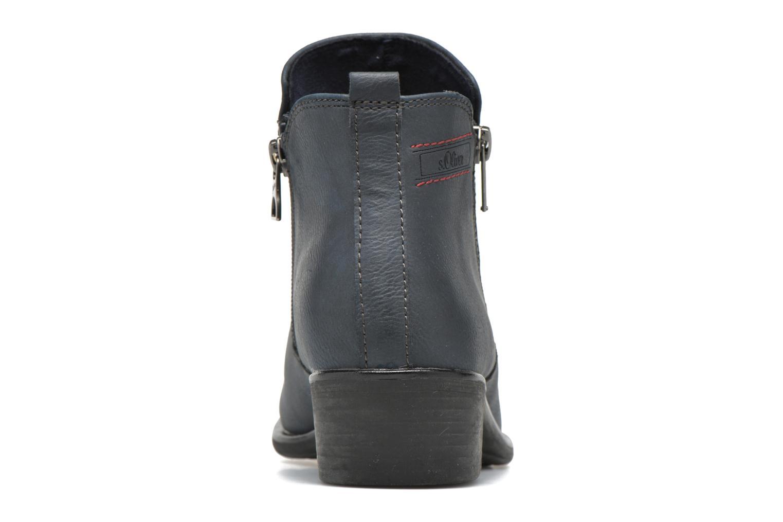 Bottines et boots S.Oliver Dafina Bleu vue droite