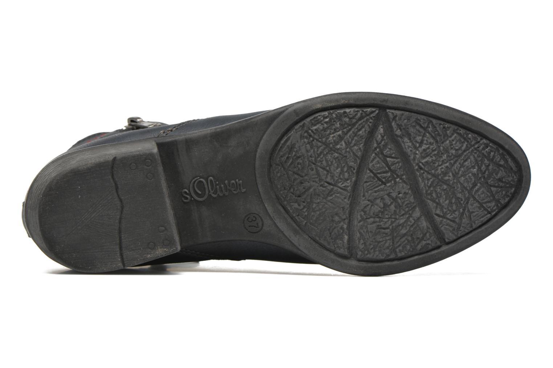 Bottines et boots S.Oliver Dafina Bleu vue haut