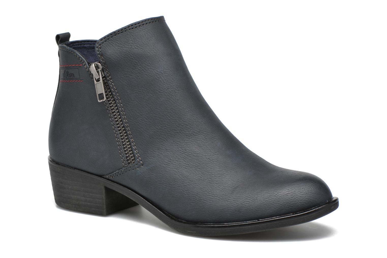 Bottines et boots S.Oliver Dafina Bleu vue détail/paire