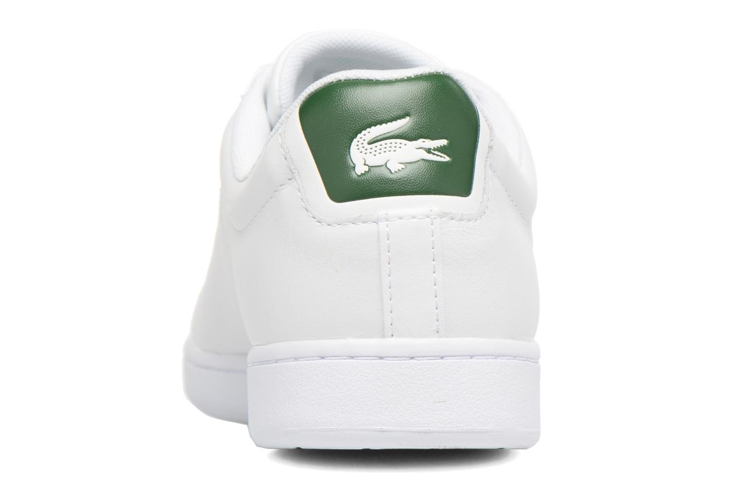 Baskets Lacoste Carnaby Evo S216 2 Blanc vue droite