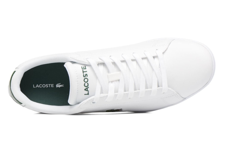 Baskets Lacoste Carnaby Evo S216 2 Blanc vue gauche
