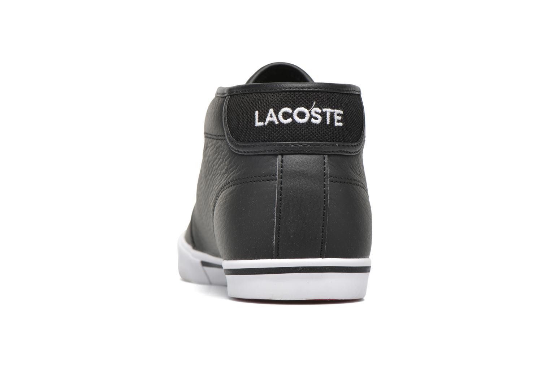 Baskets Lacoste Ampthill Lcr3 Noir vue droite