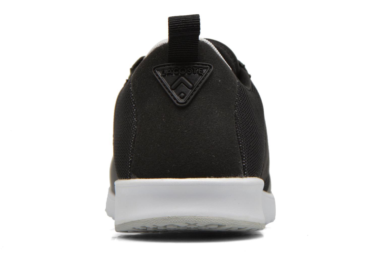 Sneaker Lacoste L.Ight R 316 1 W schwarz ansicht von rechts
