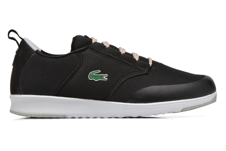 Sneaker Lacoste L.Ight R 316 1 W schwarz ansicht von hinten