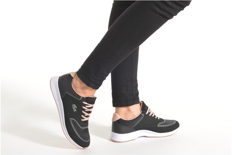Sneaker Lacoste Chaumont Lace 316 2 schwarz ansicht von unten / tasche getragen