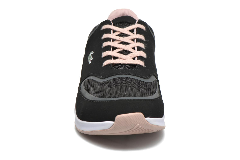 Sneaker Lacoste Chaumont Lace 316 2 schwarz schuhe getragen