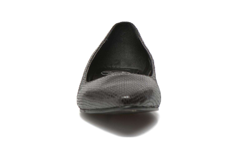 Ballerines Initiale Paris Tweet Noir vue portées chaussures