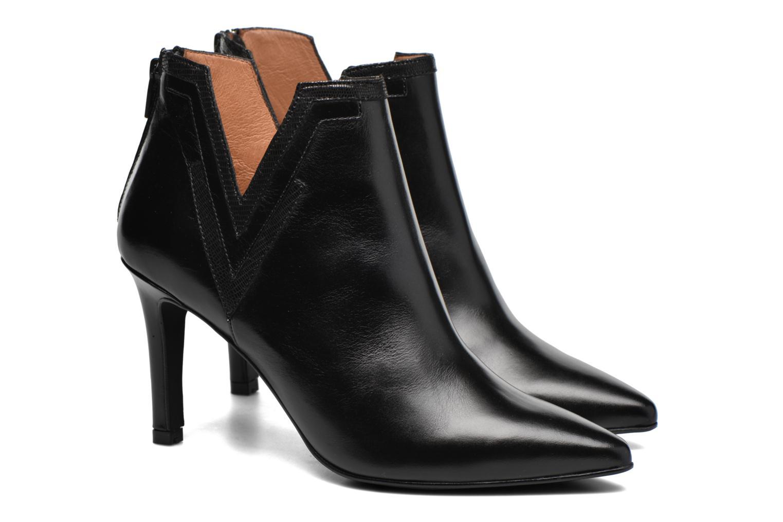 Boots en enkellaarsjes Made by SARENZA Glamatomic #3 Zwart achterkant