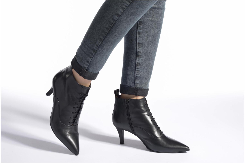 Bottines et boots Made by SARENZA See Ya Topanga #6 Noir vue bas / vue portée sac