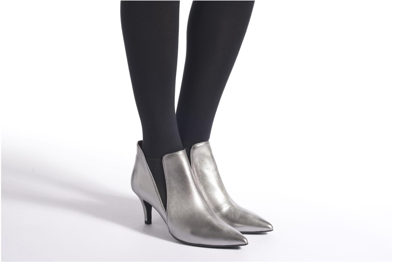 Boots en enkellaarsjes Made by SARENZA Glamatomic #7 Zilver onder