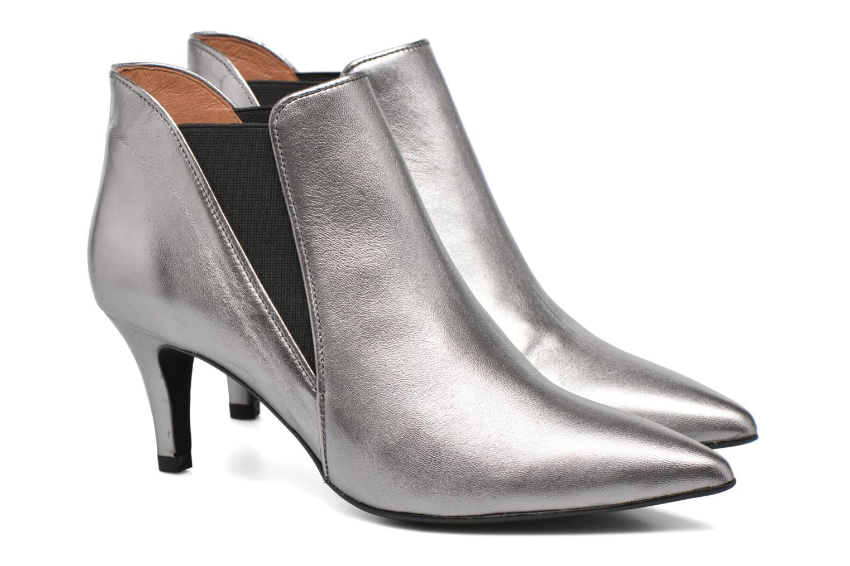 Bottines et boots Made by SARENZA Glamatomic #7 Argent vue derrière