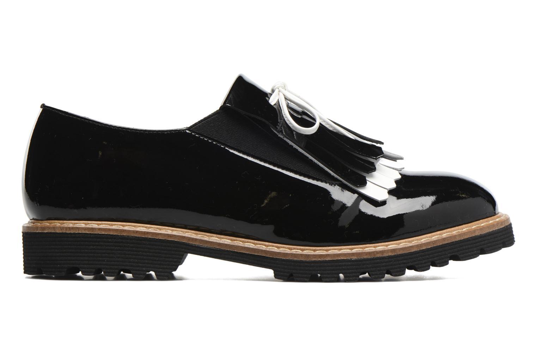 Carioca Crew Chaussures à Lacets #3 Verniz noir + blanc