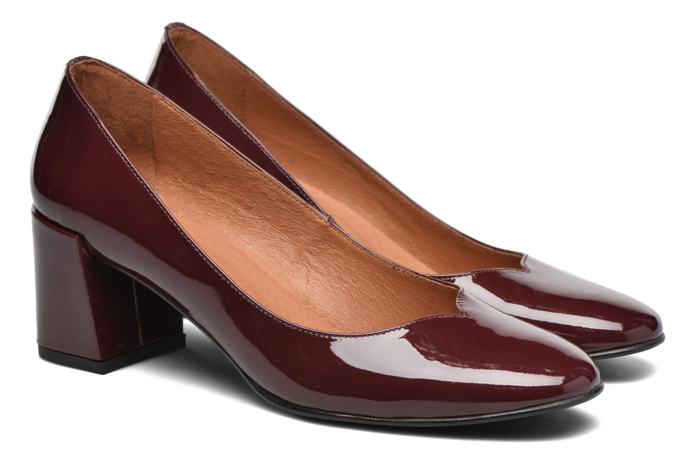Escarpins Made by SARENZA Notting Heels #2 Bordeaux vue derrière