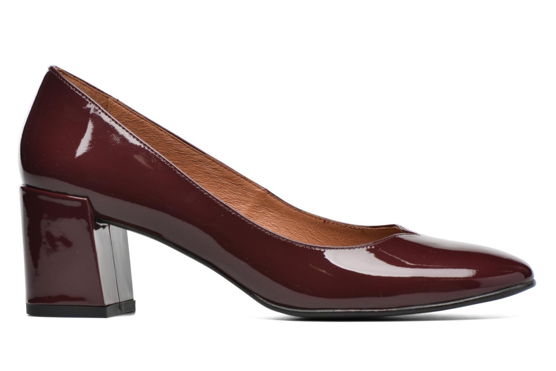 Escarpins Made by SARENZA Notting Heels #2 Bordeaux vue détail/paire