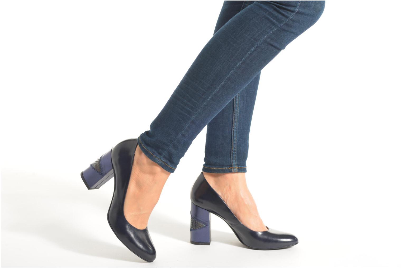Zapatos de tacón Made by SARENZA My Talon Is Rich #4 Azul vista de abajo