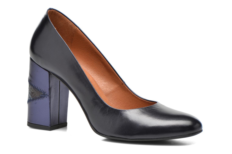 Zapatos de tacón Made by SARENZA My Talon Is Rich #4 Azul vista lateral derecha