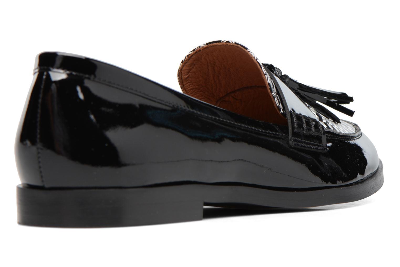 Mocassins Made by SARENZA Partygloo #10 Zwart voorkant