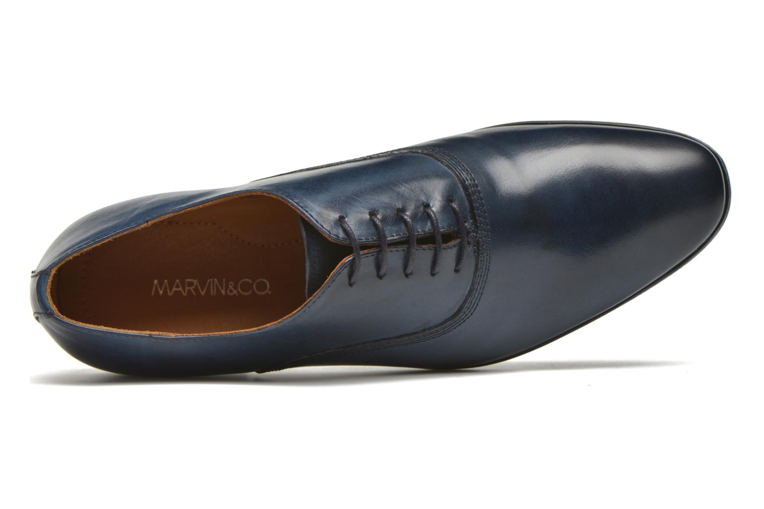 Lace-up shoes Marvin&co Newry Blue view from the left