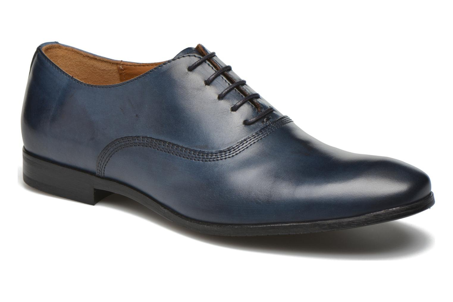 Lace-up shoes Marvin&co Newry Blue detailed view/ Pair view