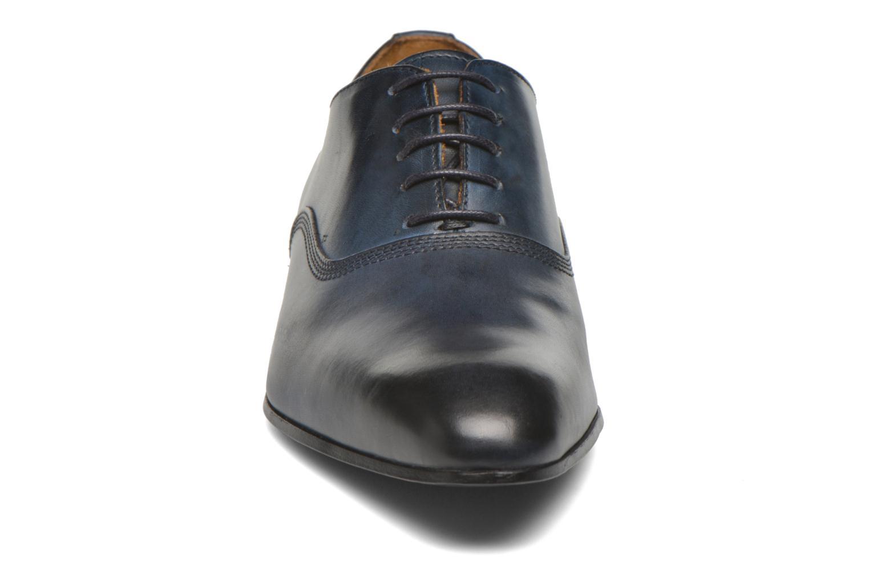 Schnürschuhe Marvin&Co Norwich blau schuhe getragen