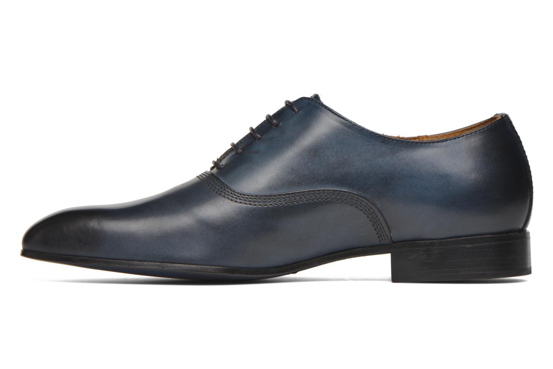 Schnürschuhe Marvin&Co Norwich blau ansicht von vorne