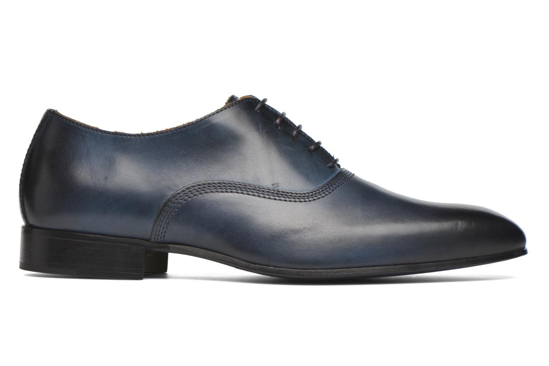 Schnürschuhe Marvin&Co Norwich blau ansicht von hinten