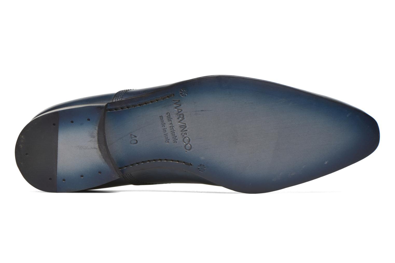Schnürschuhe Marvin&Co Norwich blau ansicht von oben