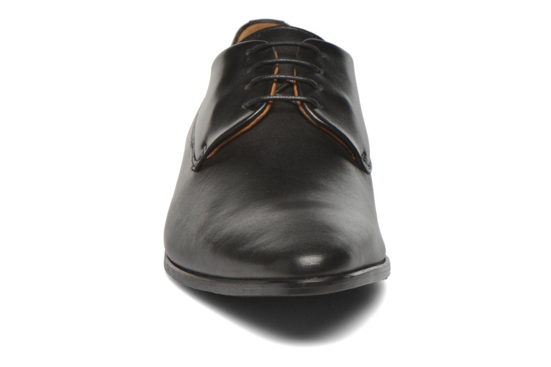 Schnürschuhe Marvin&Co Notton schwarz schuhe getragen