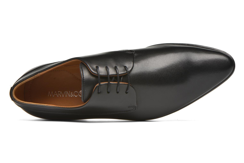 Schnürschuhe Marvin&Co Notton schwarz ansicht von links