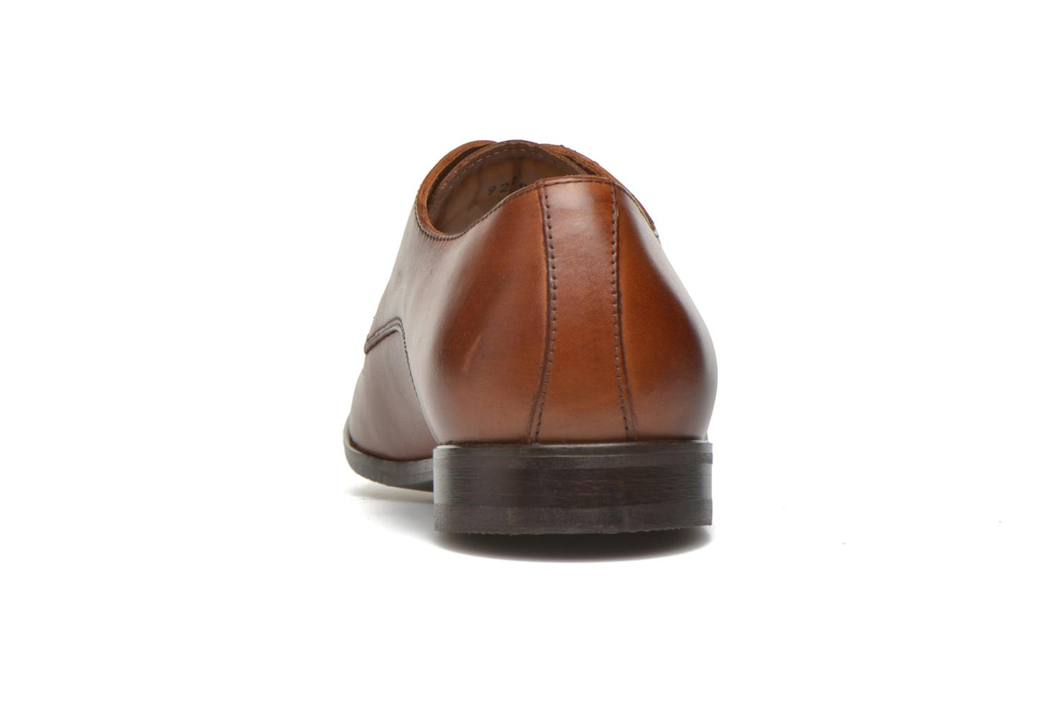 Lace-up shoes Marvin&co Nailsworth Brown view from the right