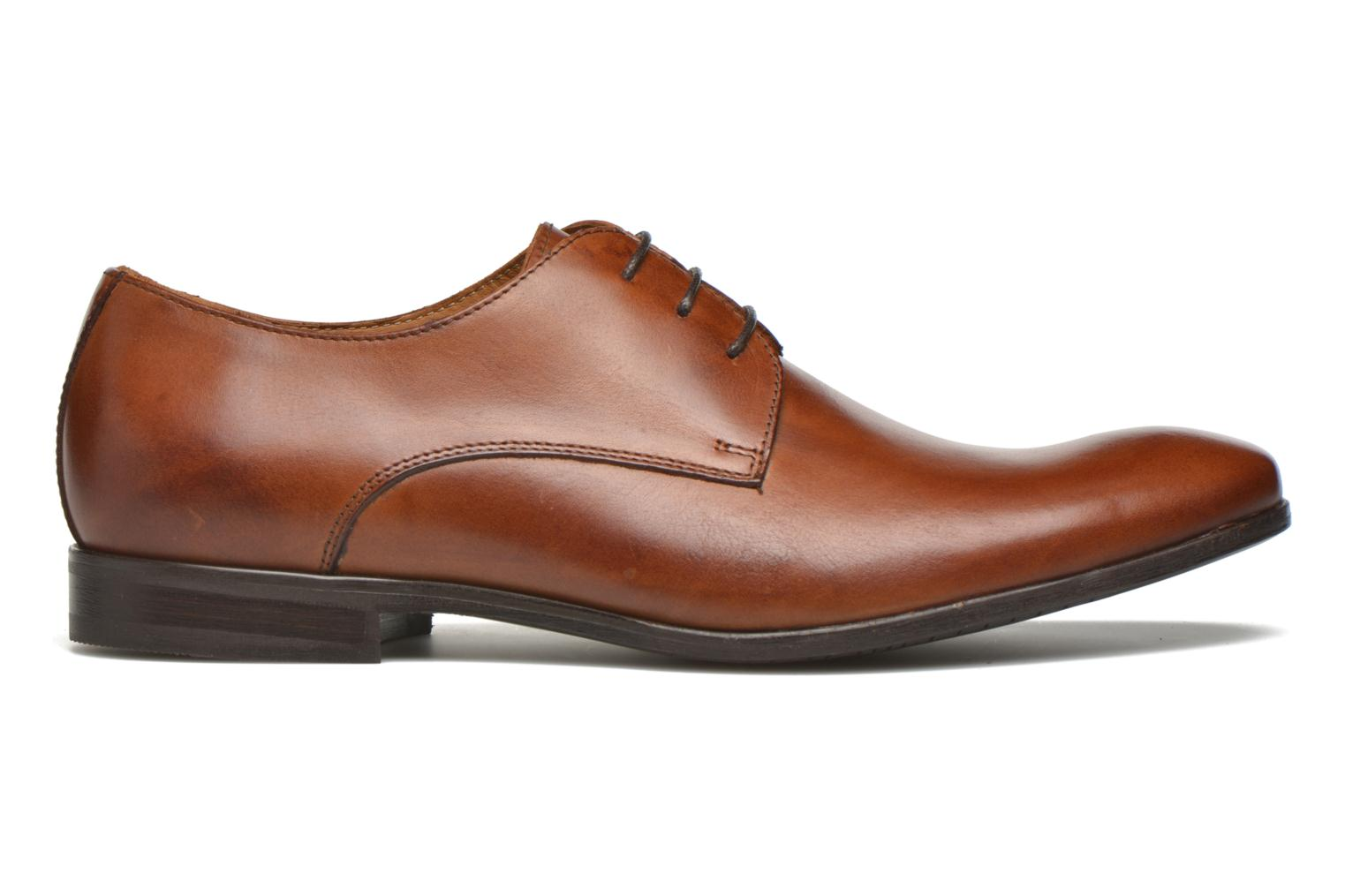Lace-up shoes Marvin&co Nailsworth Brown back view