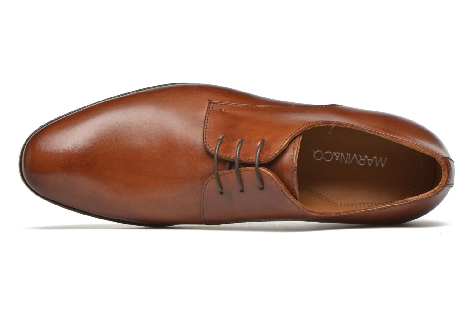 Lace-up shoes Marvin&co Nailsworth Brown view from the left