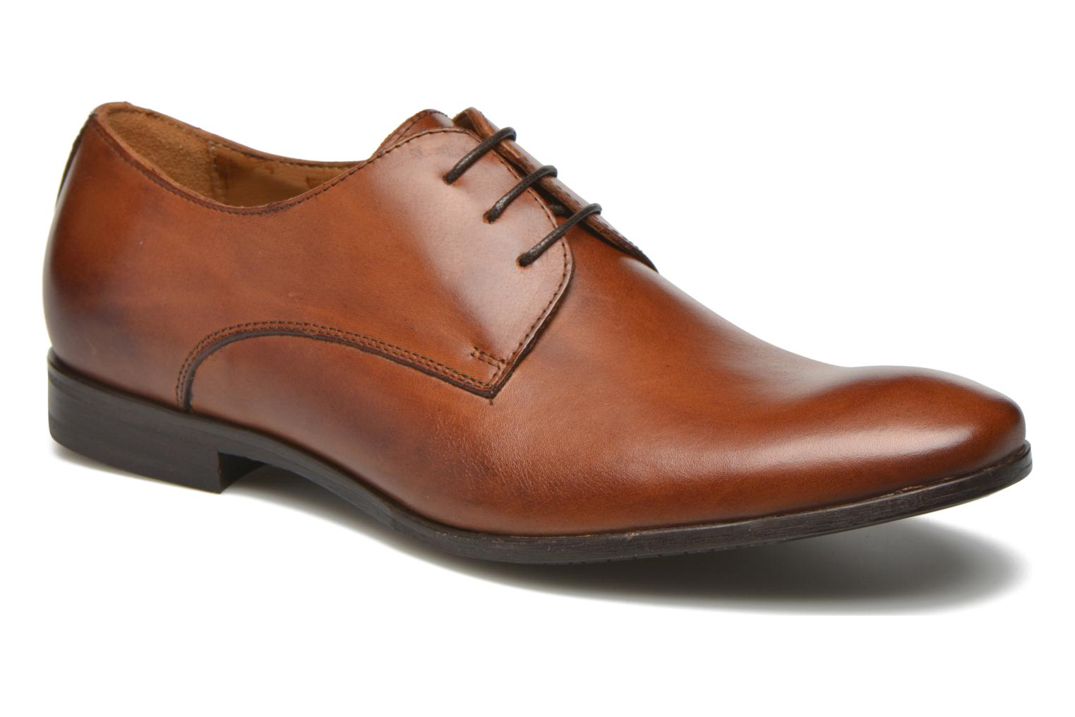 Lace-up shoes Marvin&co Nailsworth Brown detailed view/ Pair view
