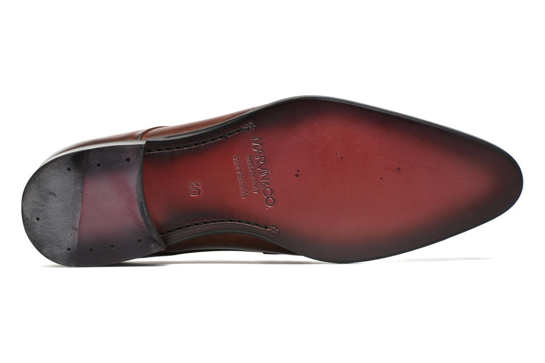 Scarpe con lacci Marvin&Co Needham Marrone immagine dall'alto