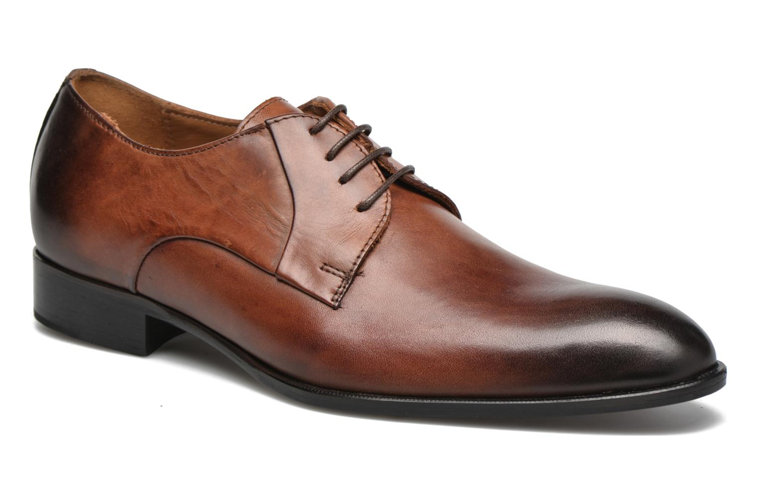 Veterschoenen Marvin&Co Needham Bruin detail