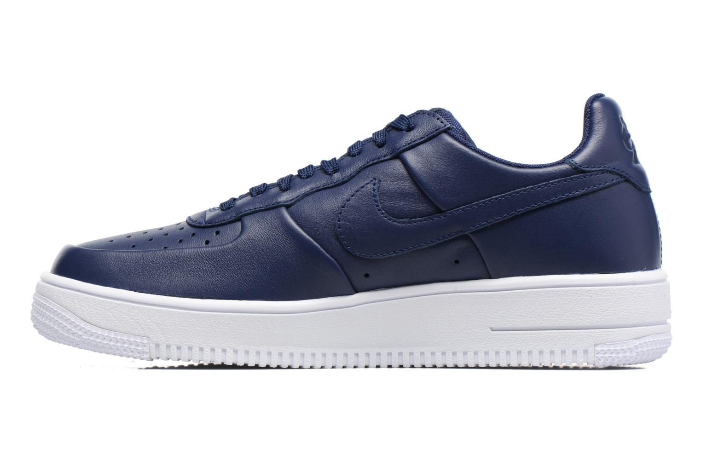 Baskets Nike Air Force 1 Ultraforce Lthr Bleu vue face