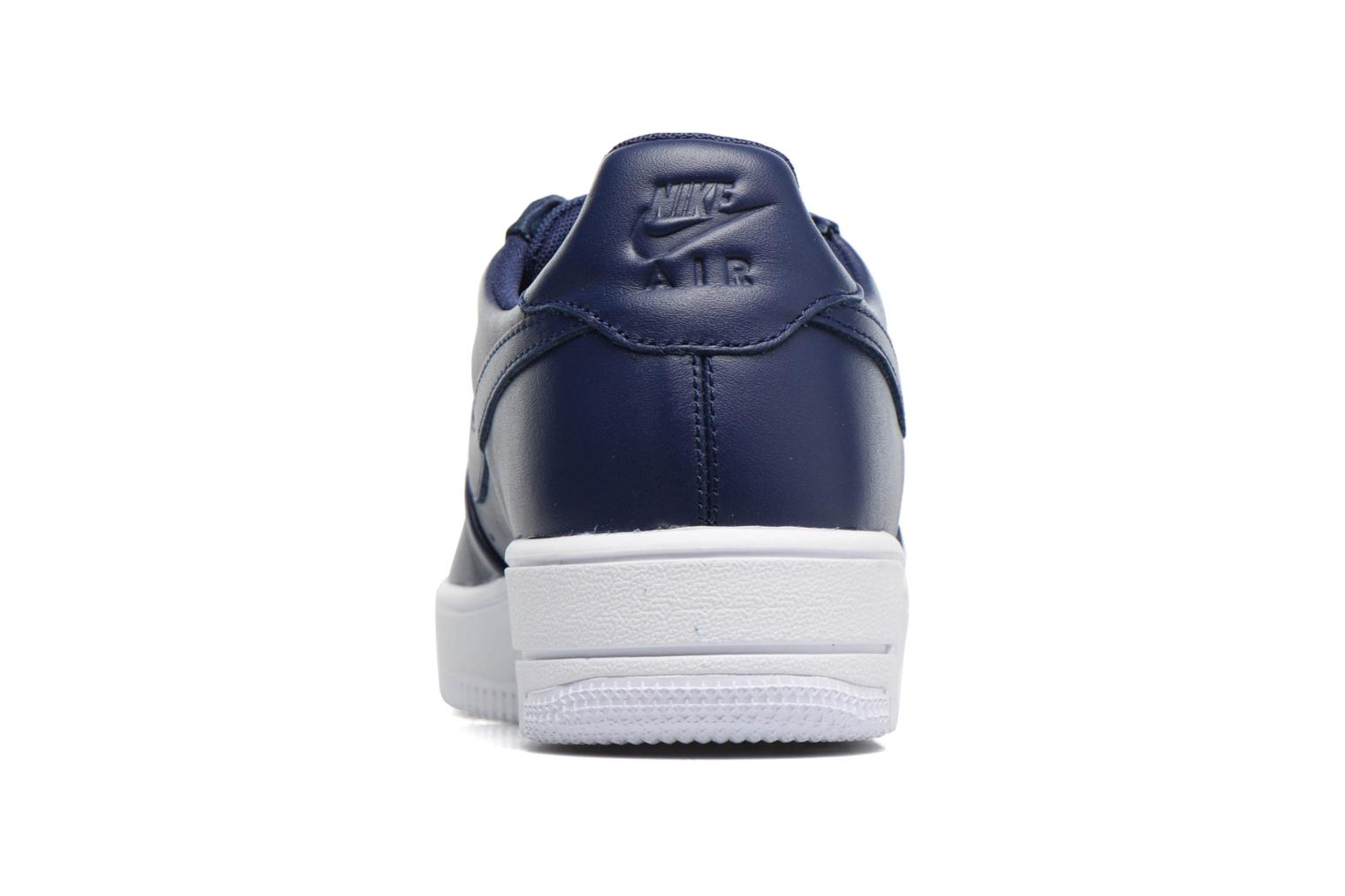 Trainers Nike Air Force 1 Ultraforce Lthr Blue view from the right