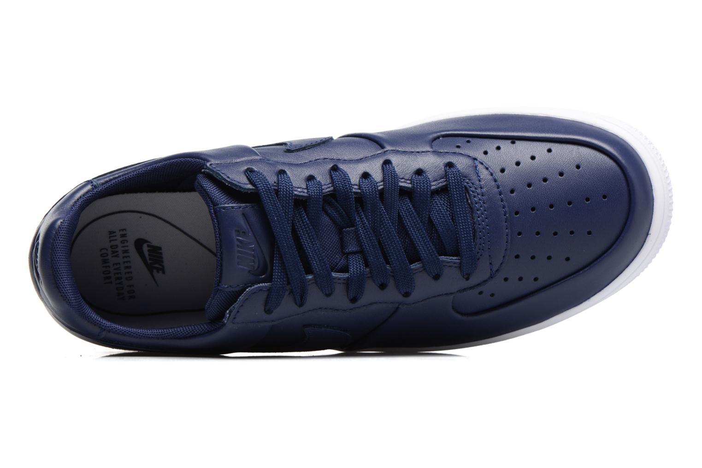 Baskets Nike Air Force 1 Ultraforce Lthr Bleu vue gauche